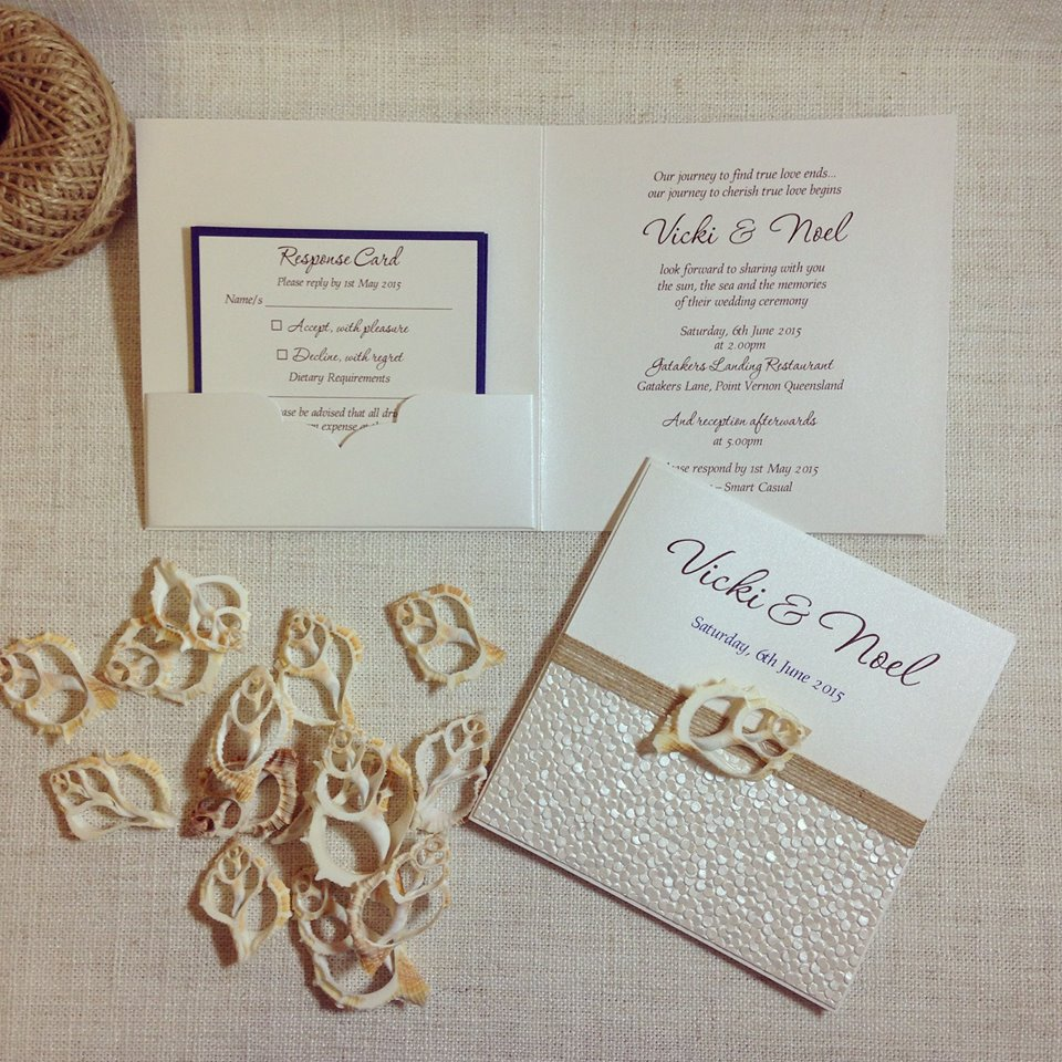 Simply-Stunning-Stationery-Wedding-Invitations-Coastal-Beach-Sliced ...
