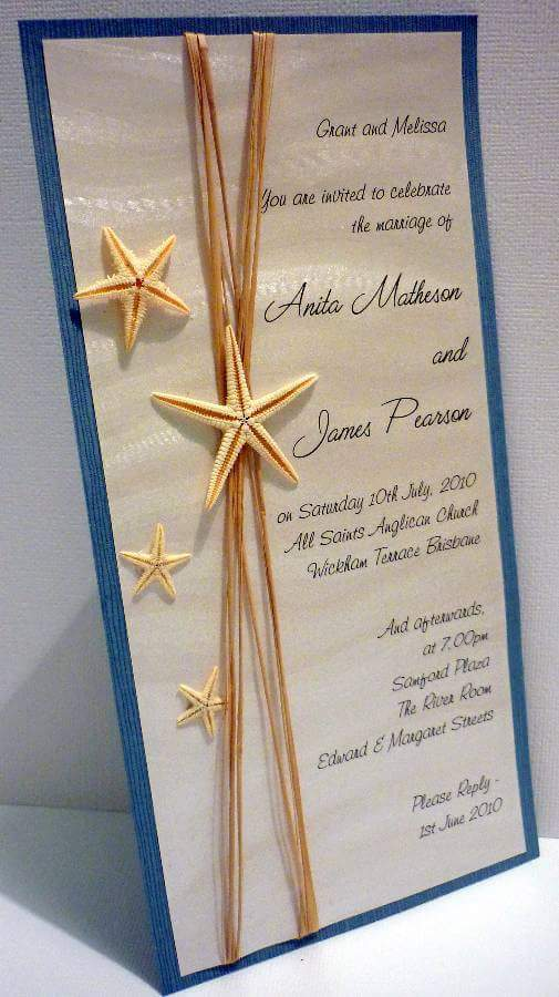 Simply-Stunning-Staitonery-Wedding-Invitations-Coastal-Starfish