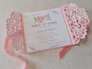 Simply-Stunning-Stationery-Wedding-Invitations-BARGAINS-Pink-Lasercut