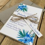 Simply-Stunning-Stationery-Wedding-Invitations-BARGAINS-Flat-Printed-Tropicana