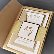 Simply-Stunning-Stationery-Wedding-Invitations-Glamour-Glitter-Stacking-Gold