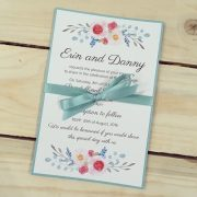 Simply-Stunning-Stationery-Wedding-Invitations-Flat-Printed-BARGAINS